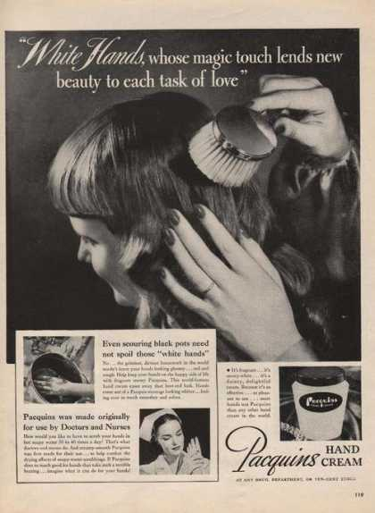 Pacquins Hand Cream New Beauty (1946)
