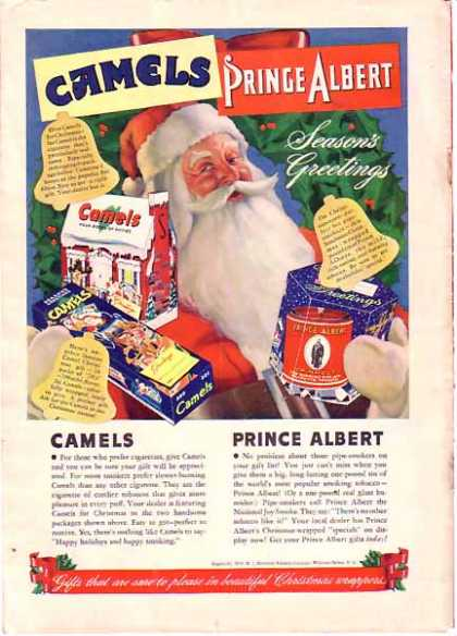 Camels & Prince Albert Christmas with Santa Claus (1940)