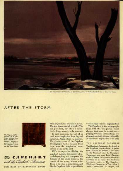 Capehart Corporation's Radio – After the Storm (1941)