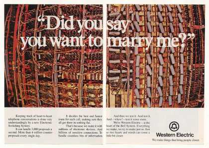 Western Electric Electronic Switching System 2P (1971)